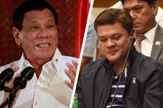 Con trai ông Duterte xăm hình tổ chức tội phạm Trung Quốc? - Ảnh 1.
