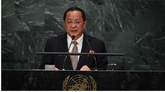 Triều Tiên: Tổng thống Donald Trump đang trong sứ mệnh tự sát - Ảnh 1.