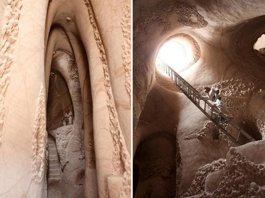 Sống 25 năm trong hang động làm nên điều kinh ngạc - Ảnh 2.