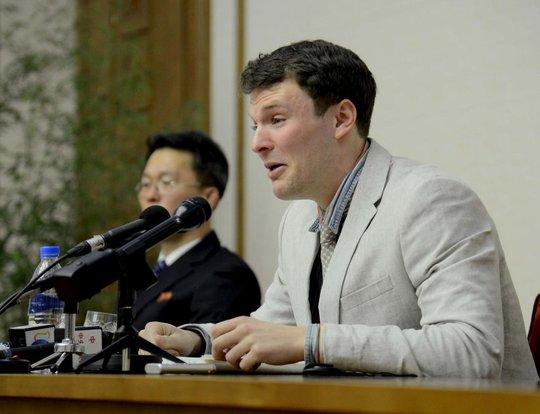 Vết thương bí ẩn làm chết sinh viên Mỹ bị bắt tại Triều Tiên - Ảnh 1.