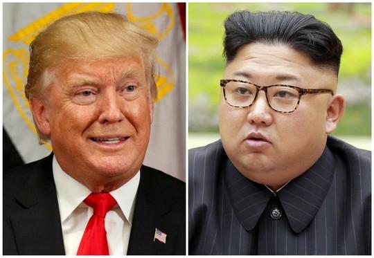Tổng thống Donald Trump cho rằng ngoại trưởng Mỹ đang lãng phí thời gian khi cố gắng đàm phán với người tên lửa bé nhỏ. Ảnh: Reuters