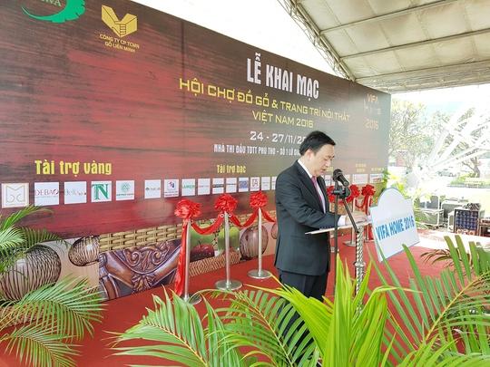 Vifa home 2017: Hội chợ đồ gỗ và trang trí nội thất Việt Nam - Ảnh 1.