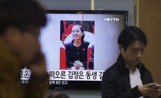 Em gái ông Kim Jong-un được tiến cử vào trung tâm quyền lực - Ảnh 1.