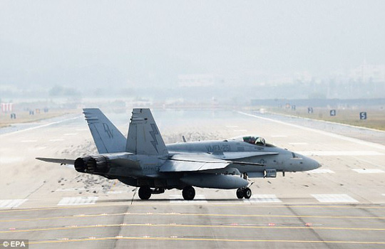 Nửa đêm, máy bay Mỹ - Hàn - Nhật nã tên lửa gần Triều Tiên - Ảnh 2.
