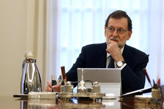 Thủ tướng Tây Ban Nha Mariano Rajoy. Ảnh: REUTERS