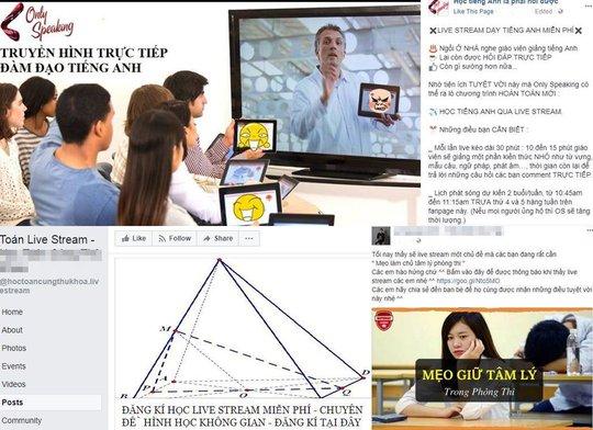 """Xu hướng học qua livestream trên Facebook với 4G MobiFone """"siêu rẻ"""" của giới trẻ - Ảnh 1."""