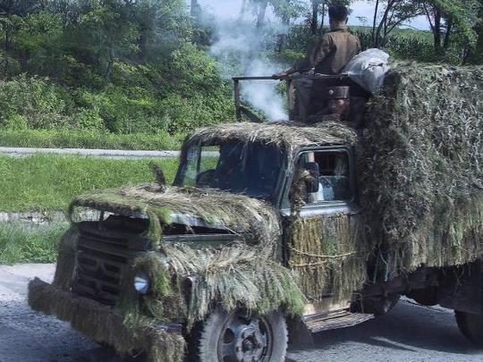 Ảnh lạ về quân đội Triều Tiên - Ảnh 1.