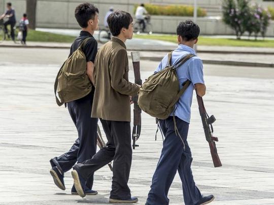 Ảnh lạ về quân đội Triều Tiên - Ảnh 2.