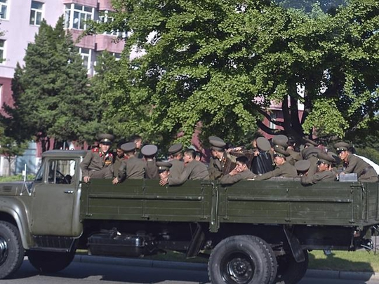 Ảnh lạ về quân đội Triều Tiên - Ảnh 3.