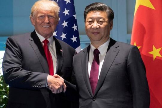 Tổng thống Mỹ Donald Trump và ông Tập Cận Bình. Ảnh: Reuters