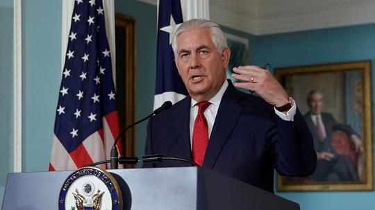 Ngoại trưởng Mỹ: Gia đình ông Assad không có chỗ ở Syria - Ảnh 1.
