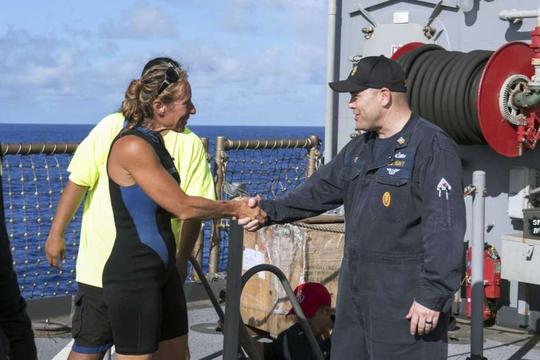 Được cứu sống sau hơn 5 tháng lênh đênh trên biển - Ảnh 1.