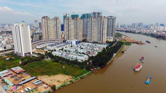 Giá đất bờ sông Sài Gòn cao nhất hơn 700 triệu/m2 - Ảnh 1.