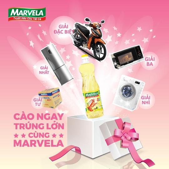 Marvela khuyến mãi lớn tri ân khách hàng - Ảnh 2.
