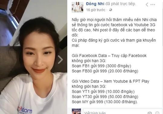 Sao Việt rủ nhau livestream khoe gói 4G MobiFone siêu mượt - Ảnh 2.