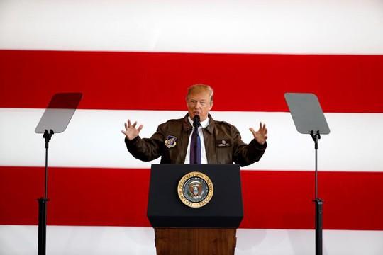 Đến Nhật Bản, ông Donald Trump tuyên bố cứng rắn về Triều Tiên - Ảnh 2.