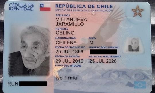 Gặp cụ ông 121 tuổi tại Chile - Ảnh 1.