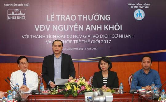 Dược phẩm Nhất Nhất trao thưởng 69 triệu đồng cho Nguyễn Anh Khôi - Ảnh 2.