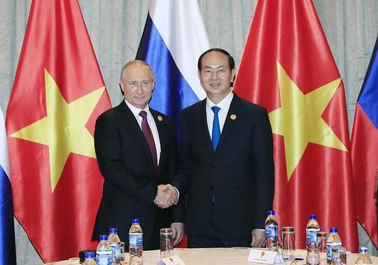 Chủ tịch nước và Tổng thống Putin ra Tuyên bố chung về an ninh thông tin - Ảnh 1.