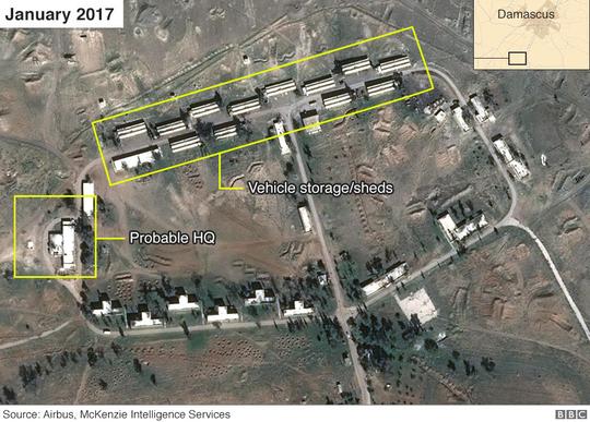 Iran xây căn cứ quân sự tại Syria? - Ảnh 1.