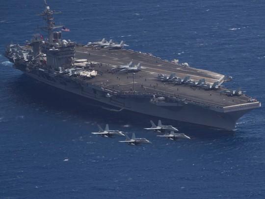 7 tàu sân bay Mỹ đồng loạt xuất hiện, Mỹ - Hàn tập trận hiếm thấy - Ảnh 3.