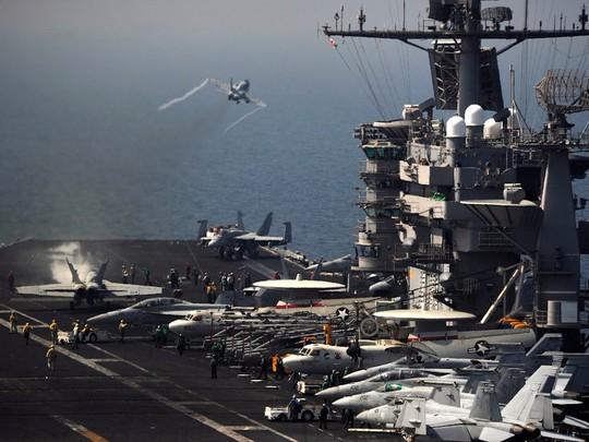7 tàu sân bay Mỹ đồng loạt xuất hiện, Mỹ - Hàn tập trận hiếm thấy - Ảnh 5.