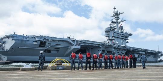 7 tàu sân bay Mỹ đồng loạt xuất hiện, Mỹ - Hàn tập trận hiếm thấy - Ảnh 6.