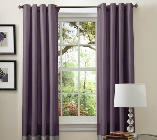 Nguyên tắc vàng khi chọn rèm cửa để căn phòng không bị rối mắt - Ảnh 1.