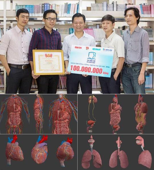 Nhân tài Đất Việt 2017 vinh danh Đại học Duy Tân với ứng dụng 3D trong y học - Ảnh 2.