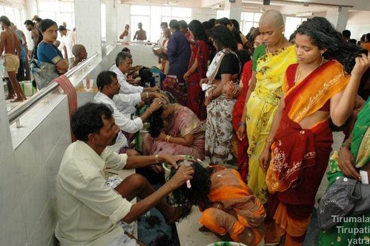 Người nghèo bán tóc kiếm cơm, người giàu làm điệu từ tóc giả - Ảnh 2.
