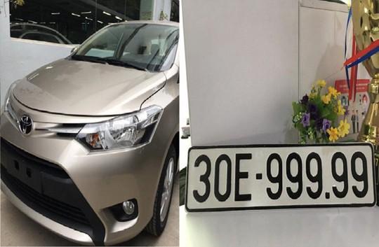 Bốc được biển ngũ quý, Toyota Vios bán gấp 3 lần giá mua - Ảnh 1.