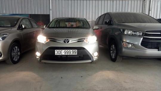 Bốc được biển ngũ quý, Toyota Vios bán gấp 3 lần giá mua - Ảnh 2.