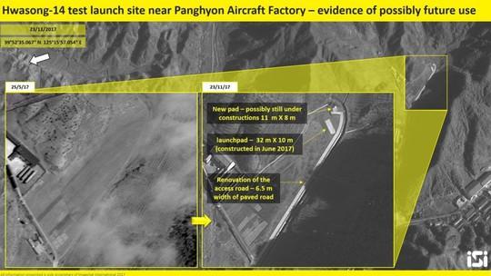Ảnh vệ tinh tố hành động chưa từng thấy của Triều Tiên - Ảnh 1.