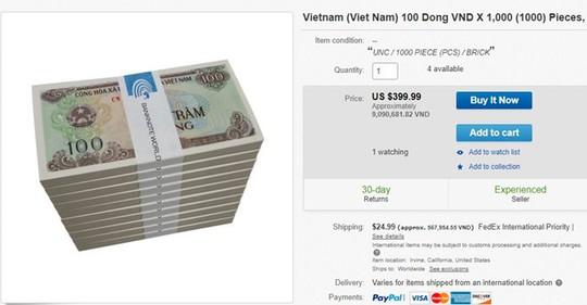 Muốn có tiền giấy 100 đồng phải chịu phí cao gấp hàng trăm lần - Ảnh 2.