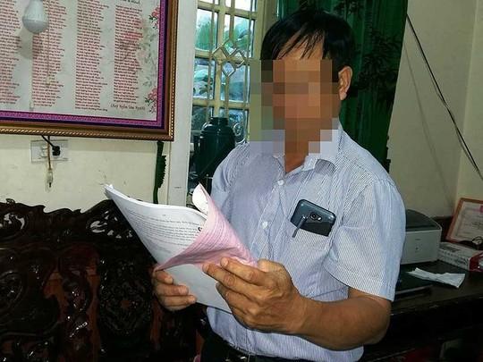 Cả huyện 'đau đầu' vì vụ ly hôn của một cô giáo - Ảnh 1.