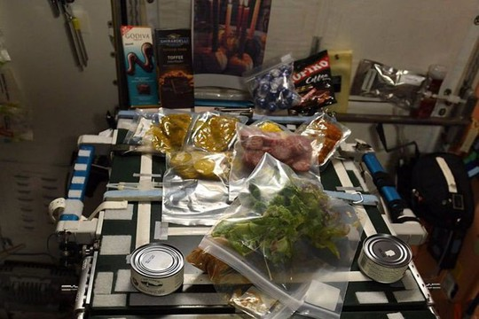 Tiết lộ cuộc sống của phi hành đoàn trên trạm không gian ISS - Ảnh 2.