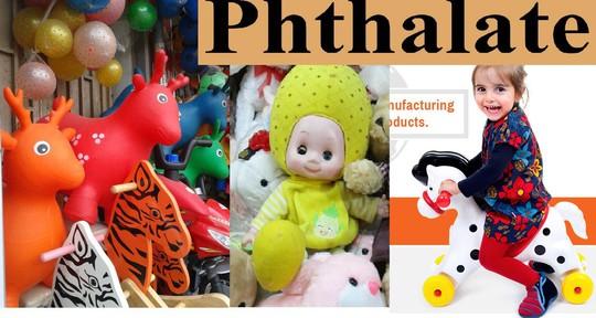 Ngăn chặn chất độc Phthalate trong đồ chơi trẻ em - Ảnh 1.