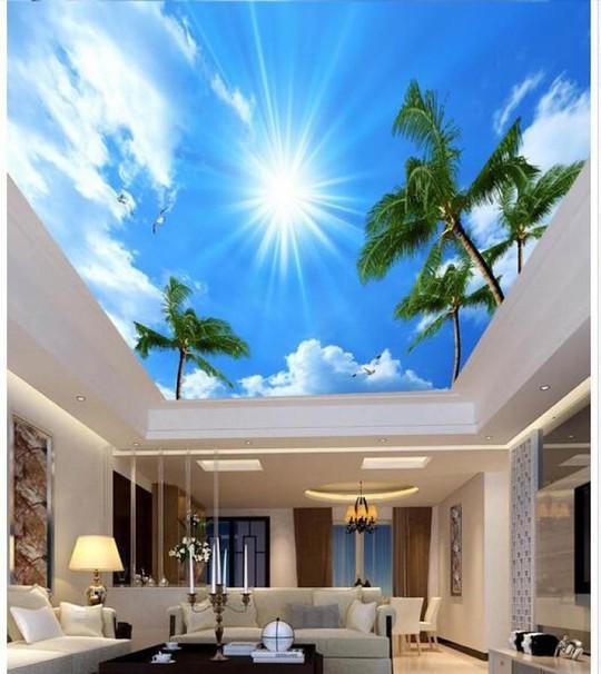 Đẹp kinh ngạc với trần nhà 3D - Ảnh 2.