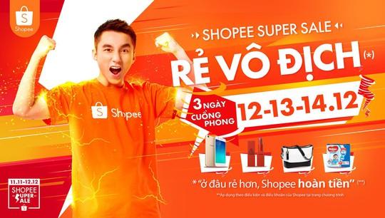 Shopee mở bán 120.000 mặt hàng giá siêu rẻ - Ảnh 1.