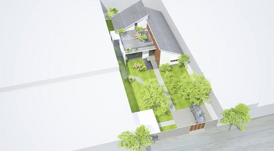 Ngôi nhà một tầng ở Đồng Tháp khiến người thành phố mơ ước - Ảnh 1.