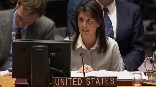 Mỹ tố Liên Hiệp Quốc thù địch với Israel - Ảnh 1.