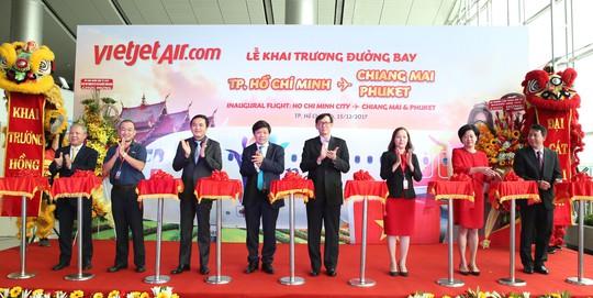 Vietjet khai trương đường bay TP HCM – Phuket - Ảnh 1.