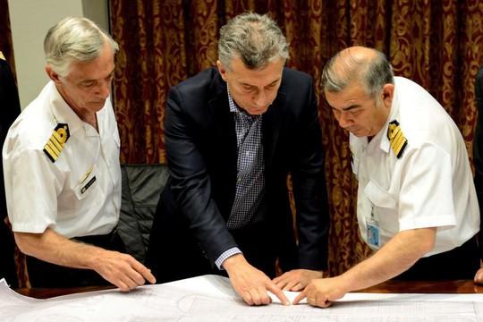 Không tìm được tàu ngầm, tư lệnh hải quân Argentina mất chức - Ảnh 1.