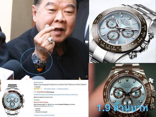 """Phó Thủ tướng Thái Lan mượn đồng hồ xài rồi """"quên"""" trả? - Ảnh 1."""