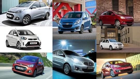 Xế hộp về giá dưới 300 triệu: Các hãng xe nhỏ bung hàng mùa Tết - Ảnh 1.