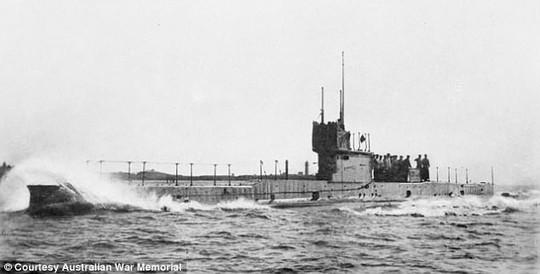 Kiên trì hơn 100 năm, Úc tìm được tàu ngầm bị đắm đầu tiên - Ảnh 1.
