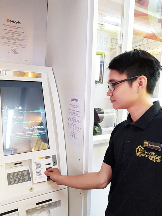 Nguy cơ mất trắng khi giao dịch tiền ảo Bitcoin qua ATM đặc thù! - Ảnh 2.