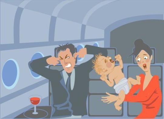 7 cách để giữ em bé ngoan ngoãn trên máy bay - Ảnh 2.