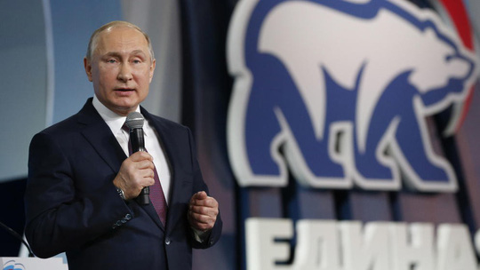 Ông Putin tuyên bố không đối xử với nước Nga như bà ngoại - Ảnh 1.
