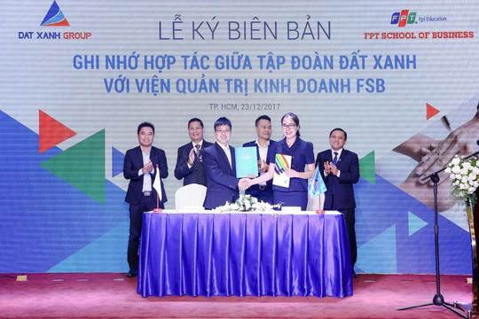 Đất Xanh bắt tay FPT đào tạo tài năng trẻ - Ảnh 1.